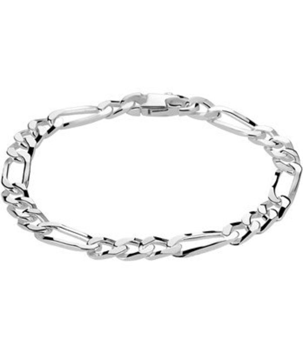Diamant Centrum Rotterdam Huis collectie   Armband figaro 6,0 mm 19 cm