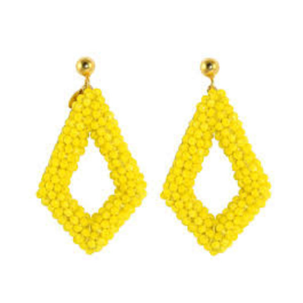 Yellow New Style Crystal drops