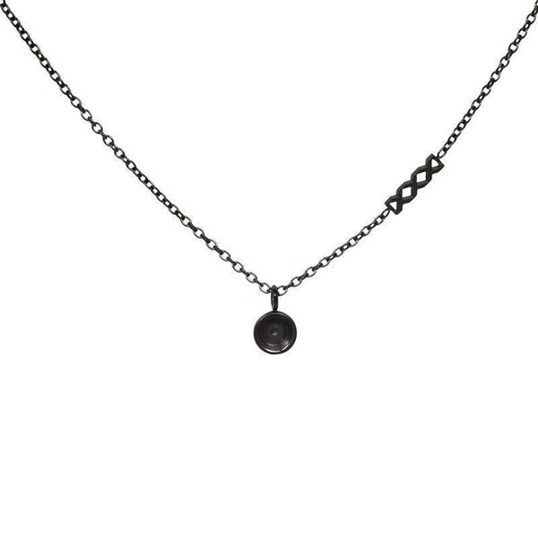 iXXXi Jewelry Necklace Chain Top Part Base 40 cm Zwart