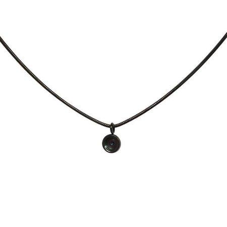 iXXXi Jewelry Necklace Snake Top Part Base 40 cm Zwart