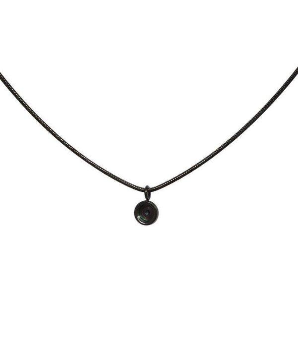 iXXXi iXXXi Jewelry Necklace Snake Top Part Base 40 cm Zwart