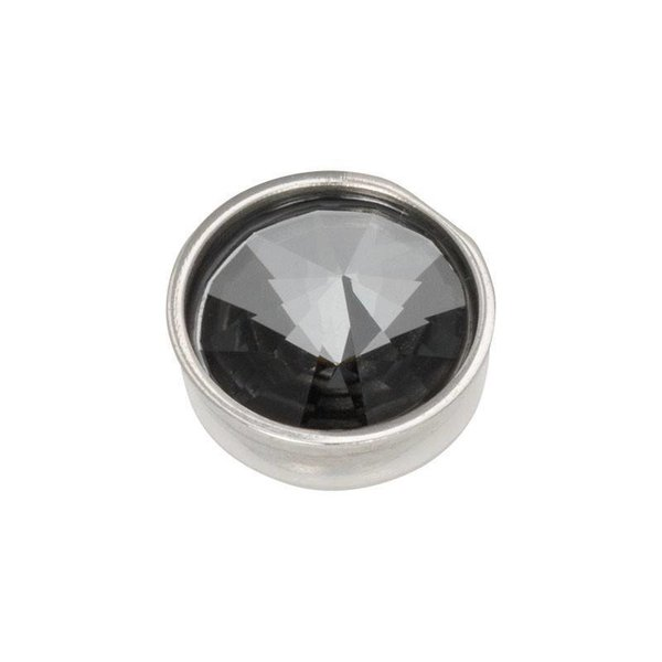 iXXXi Jewelry Top Part Pyramid Black Diamond Zilverkleurig