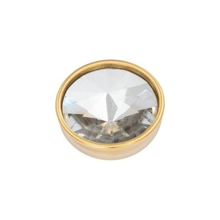 iXXXi Jewelry Top Part Pyramid Crystal Goudkleurig