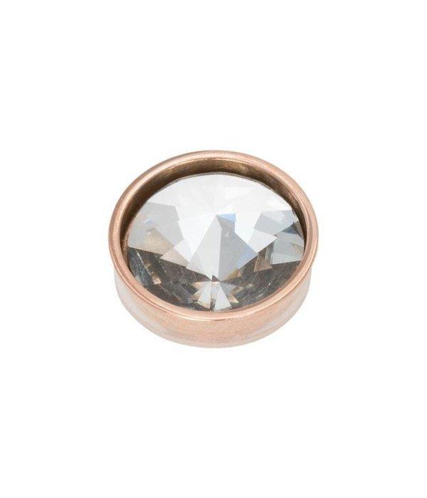 iXXXi iXXXi Jewelry Top Part Pyramid Crystal Rosé