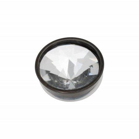 iXXXi Jewelry Top Part Pyramid Crystal Zwart