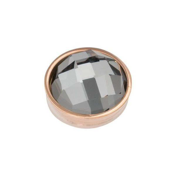 iXXXi Jewelry Top Part Facet Black Diamond Rosé