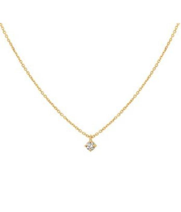 Diamant Centrum Rotterdam Huis collectie   Collier diamant 0.10ct H SI 41 - 43 - 45 cm