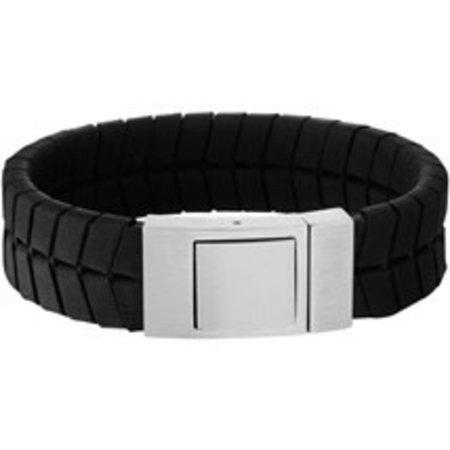 Armband leer 18 mm 21 cm