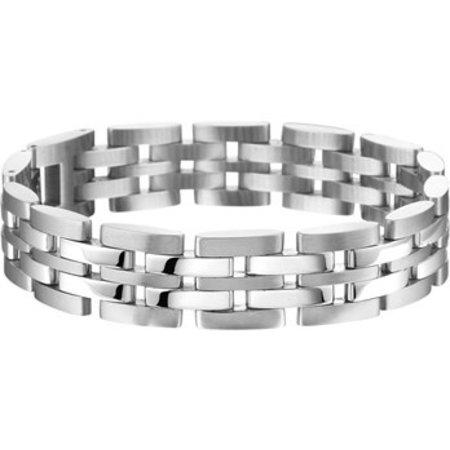 Diamant Centrum Rotterdam Huis Collectie Armband 14 mm 21,5 cm