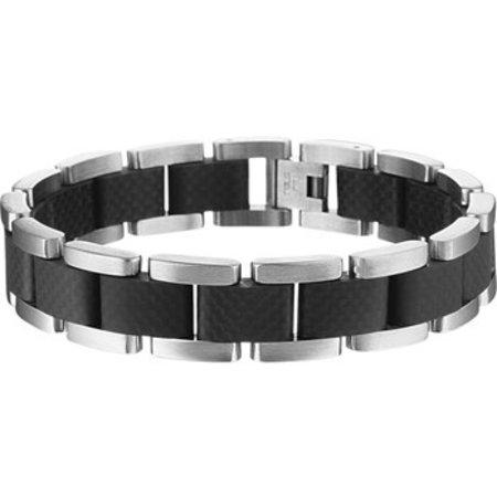 Diamant Centrum Rotterdam Huis Collectie Armband 14 mm 21 cm