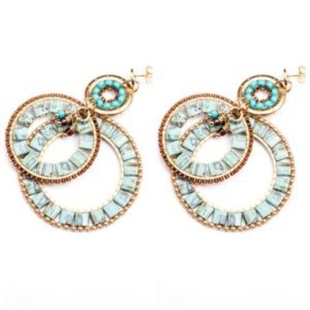 Melz  Amsterdam Melz – Earring Yara Turquoise