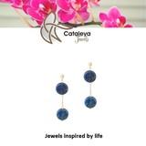 Cataleya Jewels  Cataleya Jewels Lapis lazuli cirkel