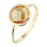 Diamant Centrum Rotterdam Huis collectie   Ring citrien