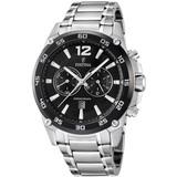 Festina F16680/4 horloge heren - zilver - edelstaal