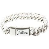 Biba  Biba metalen armband met grove schakel 21,5 cm