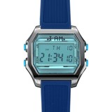I AM THE WATCH I AM THE WATCH - Horloge - 44mm - Grijs/blauw - IAM-KIT22