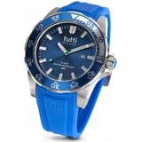 Tutti Milano Tutti Milano TM901BL- Horloge - 48 mm - Blauw - Collectie Corallo