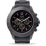 Tutti Milano Tutti Milano TM102NO-OR- Horloge - 48 mm - Zwart - Collectie Ardesia