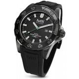 Tutti Milano Tutti Milano TM901NOP- Horloge - 48 mm - Zwart - Collectie Corallo