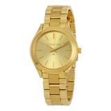 Michael Kors Michael Kors Dames  vergulde armband horloge MK3512