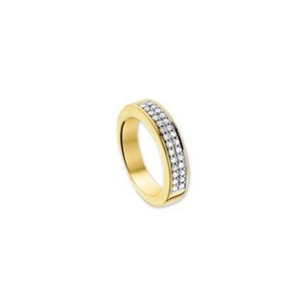 RING DIAMANT 0.35 CT prinses
