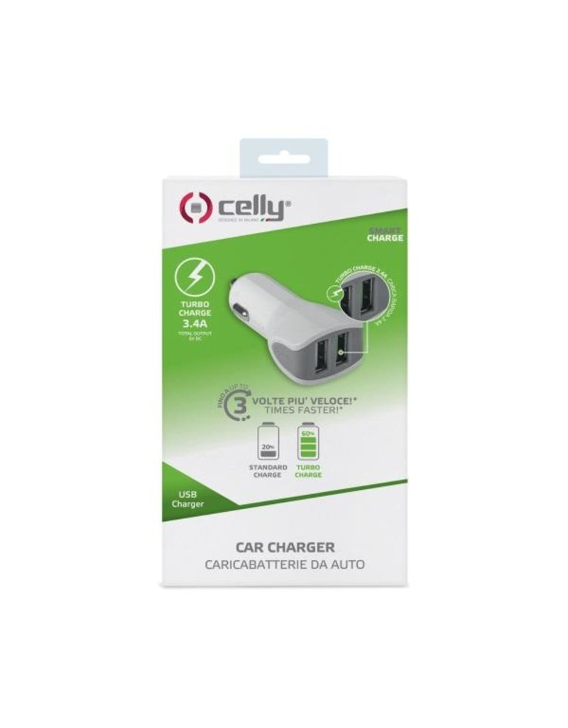 Celly CELLY TURBO CAR CHARGER 3.4A