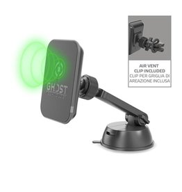 Celly Celly Ghost Magnet Car Holder Qi Wireless Charger