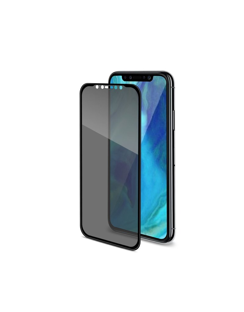 Celly Celly Privacy Full Tempered Glass - iPhone 11 Pro Max / Xs Max