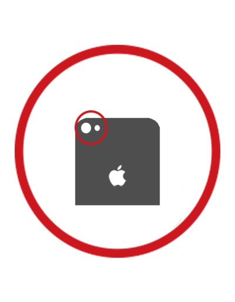 Uw iPhone X achter camera reparatie bij Phone2Cover