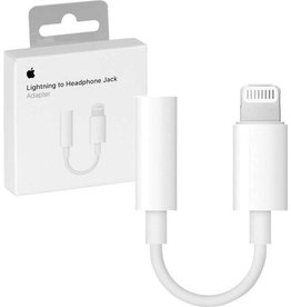 Apple Apple Lightning naar Jack 3,5 mm