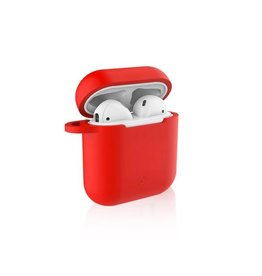 Celly Celly Red Sillicone Aircase - Airpods