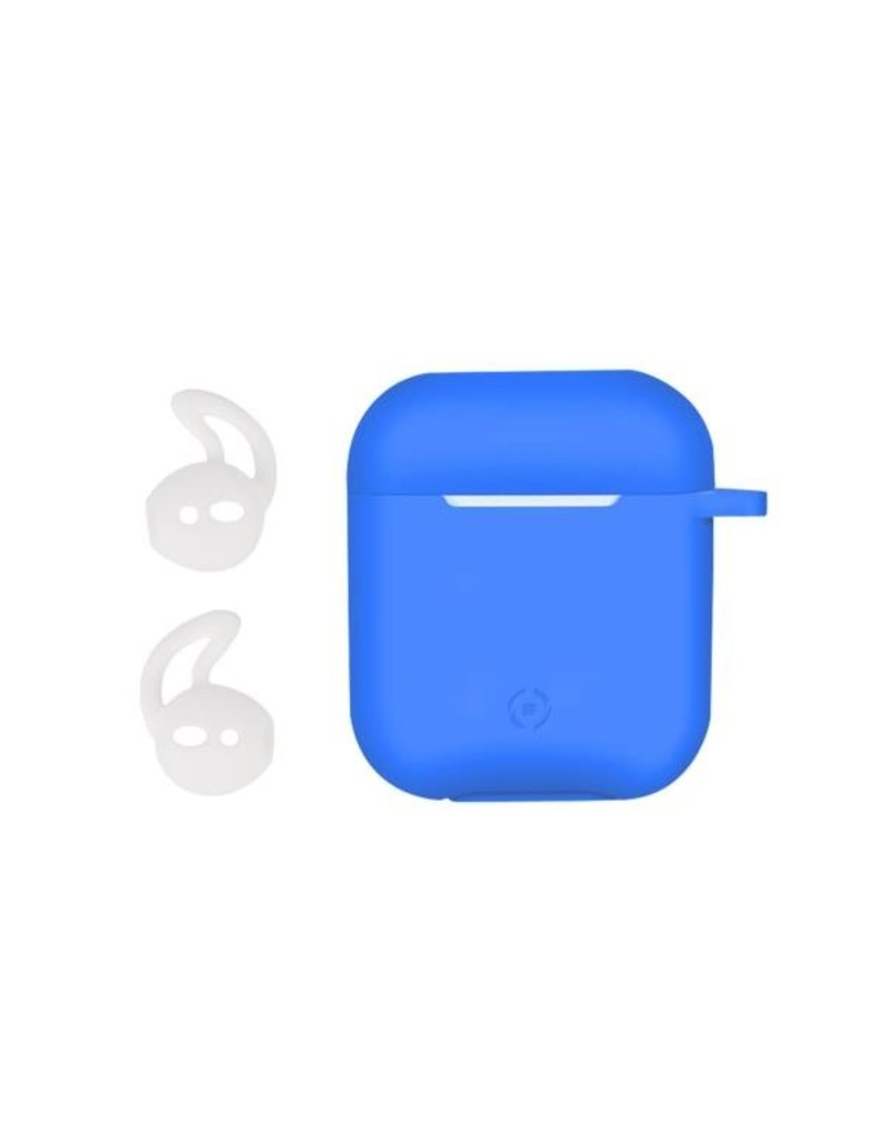 Celly Celly Blue Sillicone Aircase - Airpods