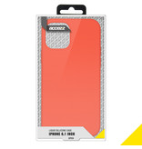 Accezz Accezz Liquid Silicone Case iPhone 12 (pro) nectarine