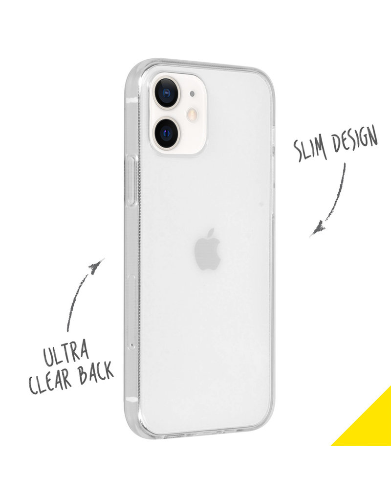 Accezz Accezz Clear Backcover iPhone 12 Mini