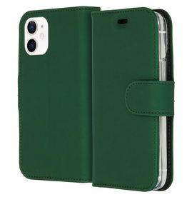 Accezz Accezz Wallet Sofcase Booktype Groen iPhone 12 Mini