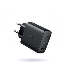 P2C Aukey Wall Charger  2-Port PD Charger 18W