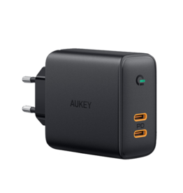 P2C Aukey Wall Charger Focus Duo 36W