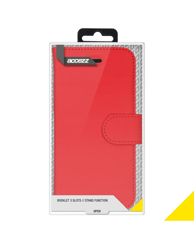 Accezz Accezz Wallet Softcase Booktype Rood iPhone 12 Pro Max