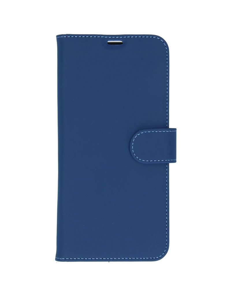 Accezz Accezz Wallet Softcase Booktype Blauw Samsung Galaxy A71