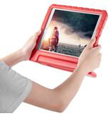 iMoshion iMoshion Kidsproof Backcover met Handvat iPad 10.2'' 2019 / 2020 Rood
