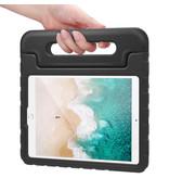 iMoshion iMoshion Kidsproof Backcover met Handvat iPad 10.2'' 2019 / 2020 Zwart