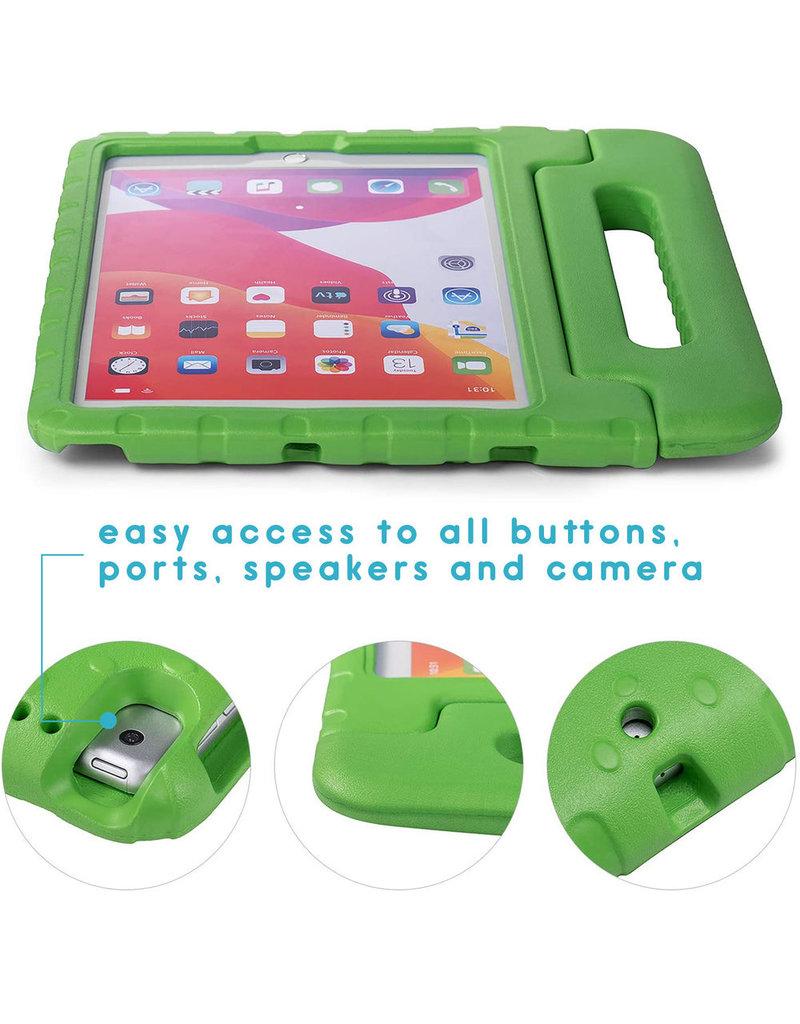 iMoshion iMoshion Kidsproof Backcover met Handvat iPad 10.2'' 2019 / 2020 Groen