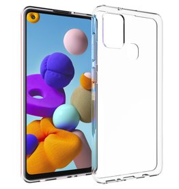 Accezz Accezz Clear Backcover Samsung A21S