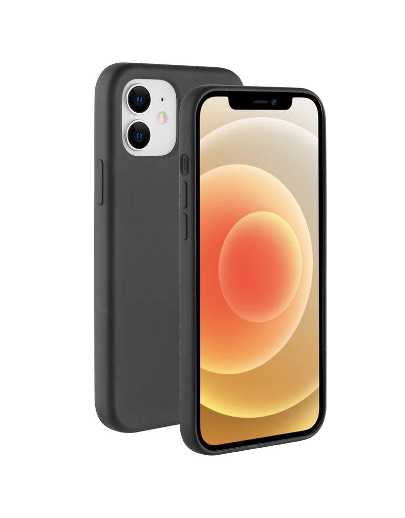 BeHello BeHello Liquid Silicone Case Zwart iPhone 12 Mini