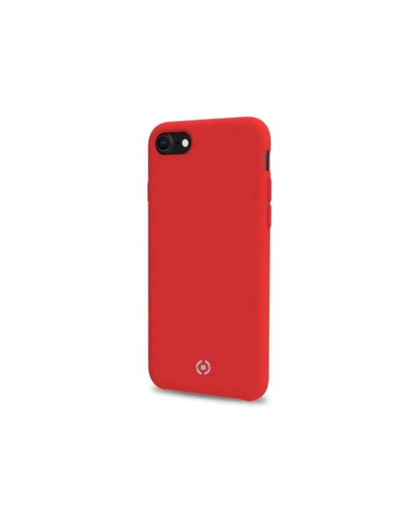 Celly Celly Feeling Silicone Back Case Rood iPhone 7 / 8 Plus