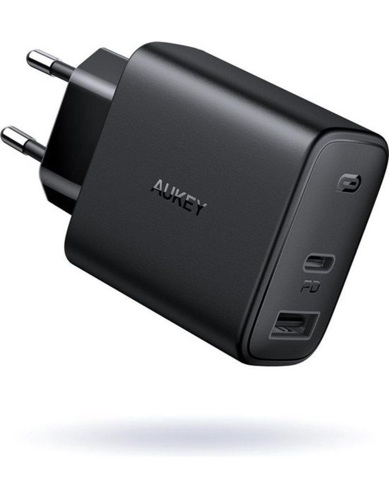 Aukey Aukey  2-Port PD Charger 32W + USB A + USB C