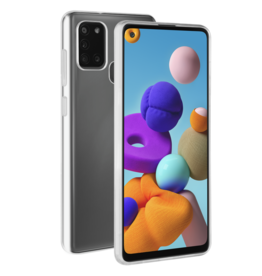 BeHello BeHello Transparant  Thingel Silicon Case Samsung Galaxy A21s