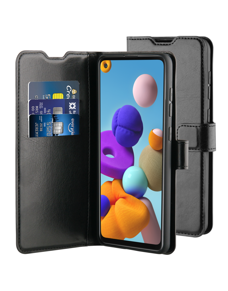 BeHello BeHello Zwart Wallet Case Samsung Galaxy A21s