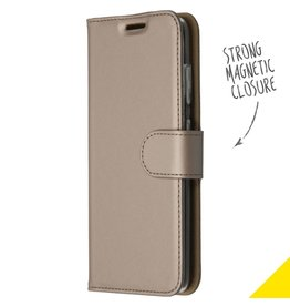 Accezz Accezz Wallet Softcase Booktype Goud Samsung Galaxy S20