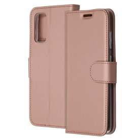 Accezz Accezz Wallet Softcase Booktype Rosé Goud Samsung Galaxy S20